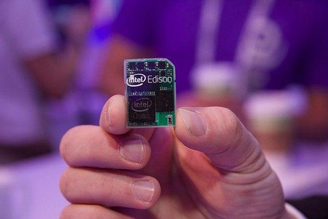 Edison - miniaturowy komputer Intela