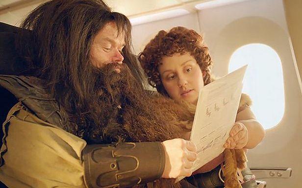 Kadr ze spotu Air New Zealand (Fot. YouTube)
