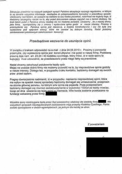 Naciagacze Na Allegro Sprzedaja Towar Ktorego Nie Maja I Zastraszaja Internautow Gadzetomania Pl