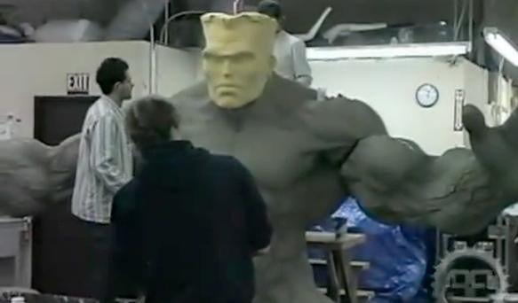 Incredible Animatronic Hulk
