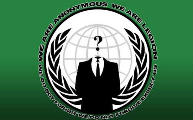 Czy za problemami izraelskiego rządu stoją Anonimowi? (Fot. DailyMail.co.uk)