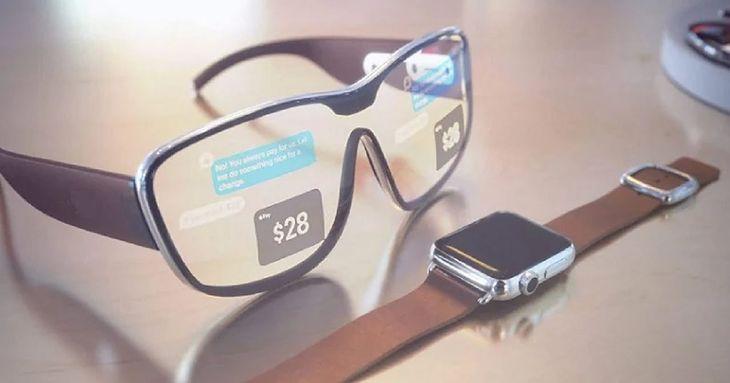 Apple Glass. Wizualizacja koncepcyjna
