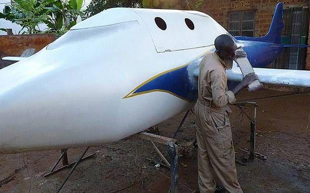 Prawie gotowy African Skyhawk