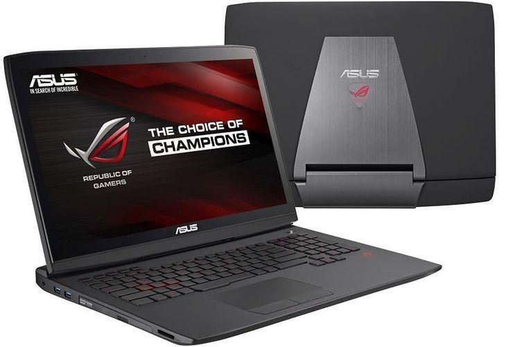Asus ROG G751 - jeden z pierwszych laptopów z GeForce GTX 980M