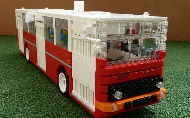 Polak Zbudował Model Autobusu Z Lego Chce By Projekt Stał Się