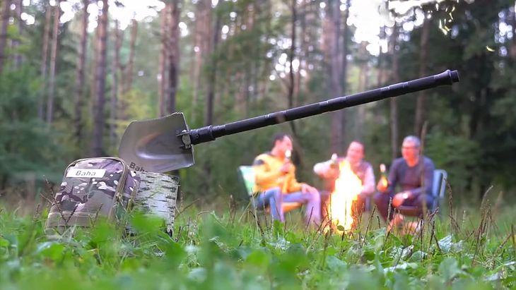 Baha to łopata będąca multinarzędziem survivalowym, które zawstydzi scyzoryk