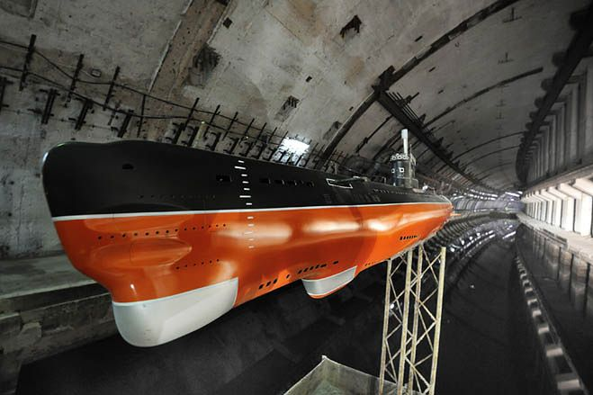 Baza okrętów podwodnych w Bałakławie (Fot. Wired.com)