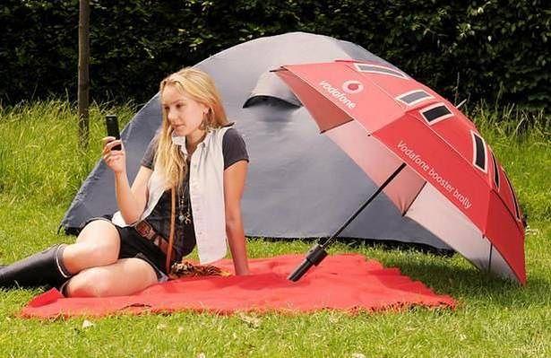 Parasol Booster Brolly (Fot. Digital Trends)