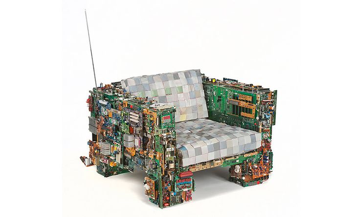 Binary Chair 01 (fot. BRC Designs)