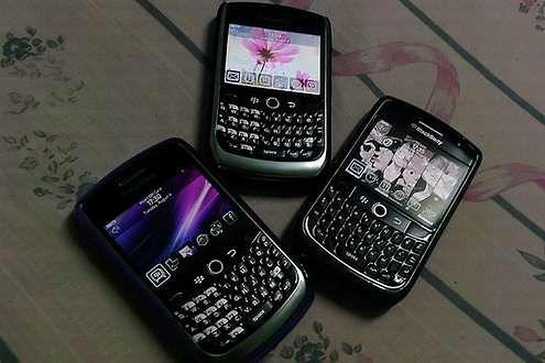 Telefony Blackberry (Fot. Flickr/Honou/Lic. CC by)