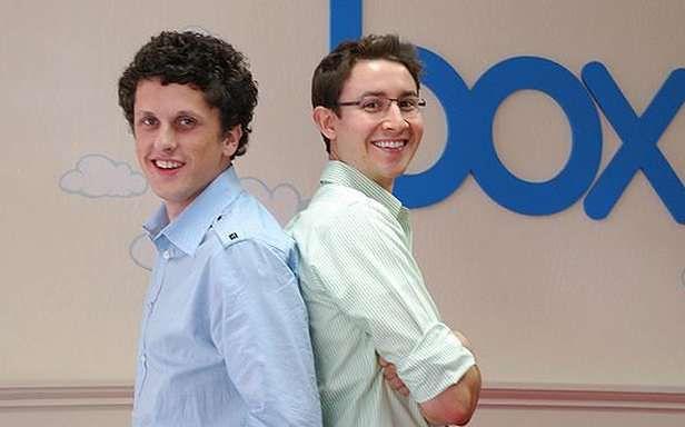 Aaron Levie i Dylan Smith założyli Box.net, gdy mieli po 20 lat (Fot. Businessweek.com)
