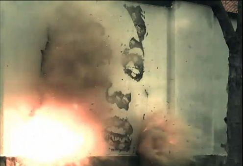 Bomb murals