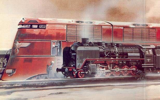 Breitspurbahn – gigantyczne pociągi Hitlera