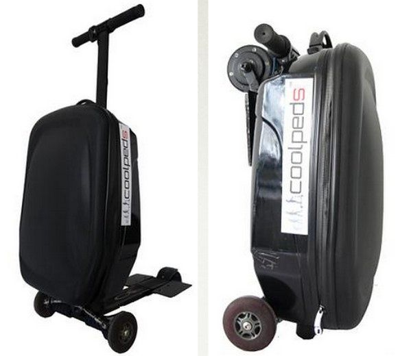 61c7c041f2347 Walizka i elektryczna hulajnoga w jednym. Z Briefcase Electric ...