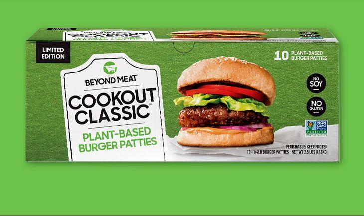 Burger produkowany przez Beyond Meat.
