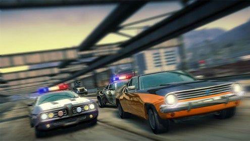 Burnout Paradise - Cops and Robbers DLC