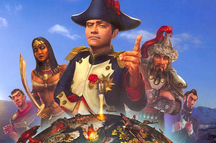 Wśród gier Sida Meiera znajdziemy m.in. Civilization Revolution