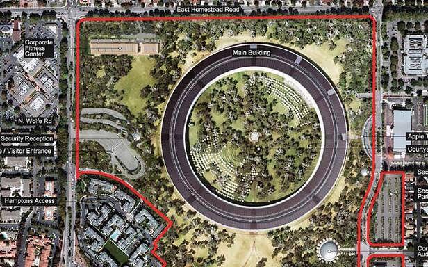 Apple przedstawia projekt swojej nowej siedziby (Fot. Cupertino.org)