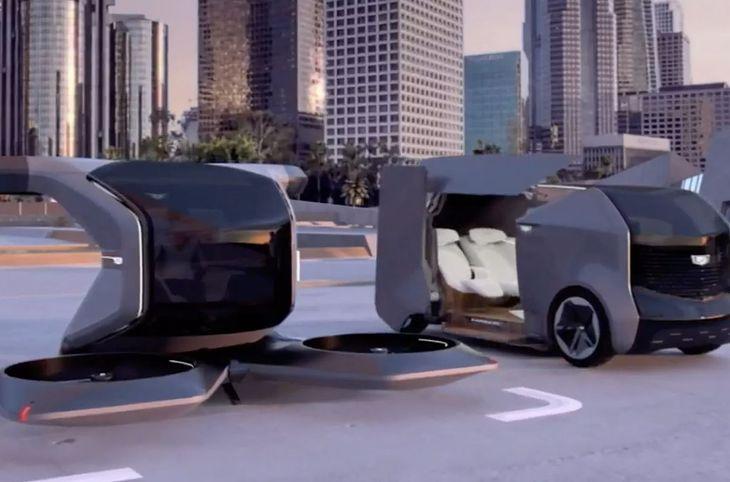 Samochody zaprezentowany przez General Motors na tegorocznym CES.