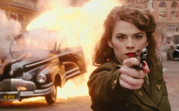 Hayley Atwell jako agentka Carter
