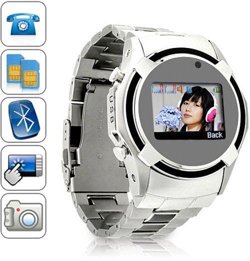 Dual SIM Cell Phone Watch