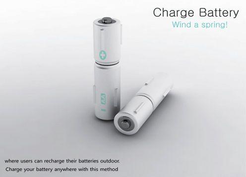 Nakręcana bateria