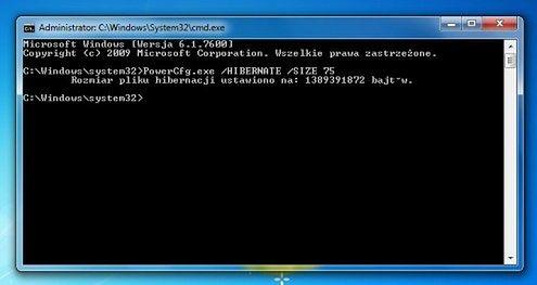 Jak Ograniczyć Wielkość Pliku Hibernacji W Windows 7 I Vista