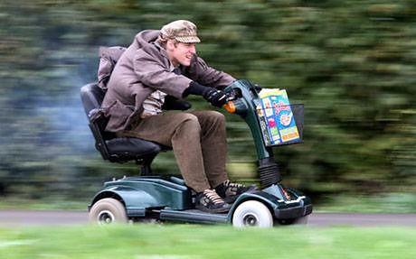 Najszybszy wózek inwalidzki świata