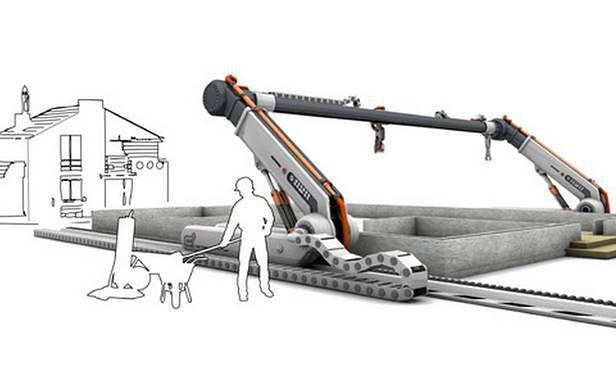 Contour - drukarka domów (Fot. YankoDesign.com)