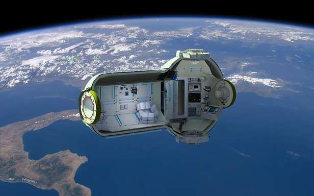 Kosmiczny hotel (Fot. OrbitalTechnologies.ru)