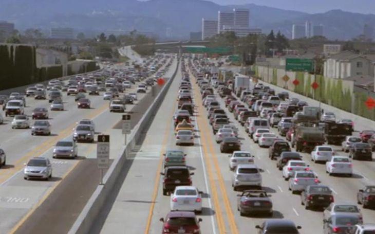 L.A. jeszcze z autami