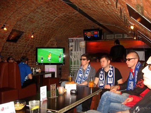 Piłka nożna 3D była już w polskiej telewizji
