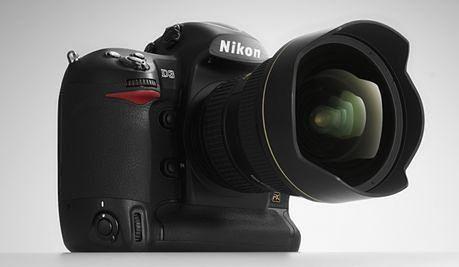 Nikon D3 z obiektywem Nikkor 14-24 mm