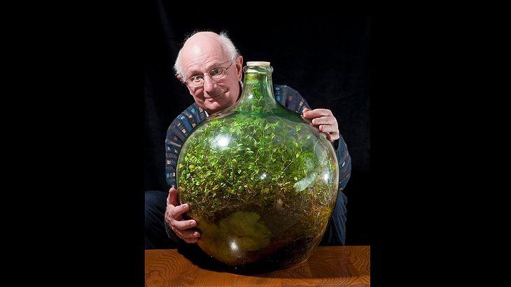 David Latimer i jego izolowany świat w butli