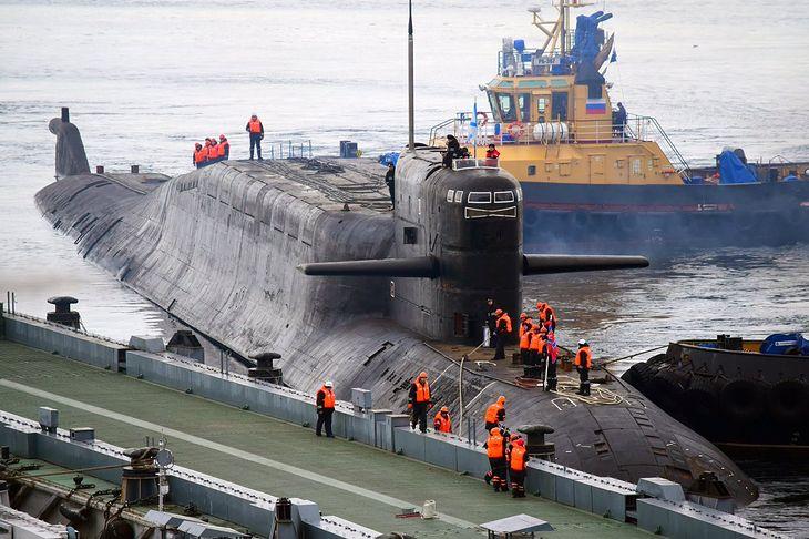 Rosyjski okręt podwodny klasy Delta iV