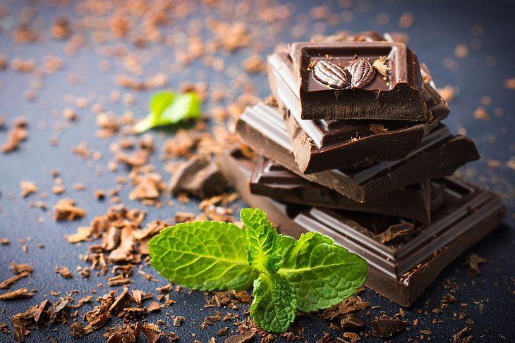 Zdjęcie czekolady pochodzi z serwisu Depositphotos