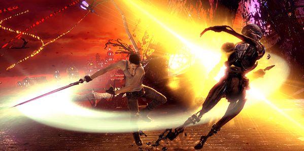 Dante wciąż wygląda dziwnie... (Fot. Rock Paper Shotgun)