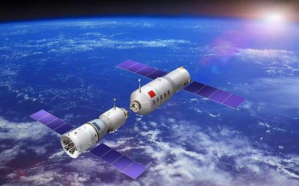 Tiangong-1 i Shenzhou-8 (Fot. Military.WorkerCN.cn)