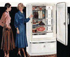 Jedna z pierwszych reklam chłodziarki.