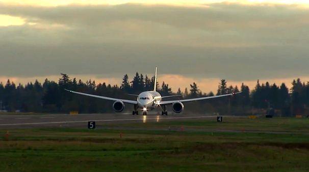 Dreamliner podczas startu
