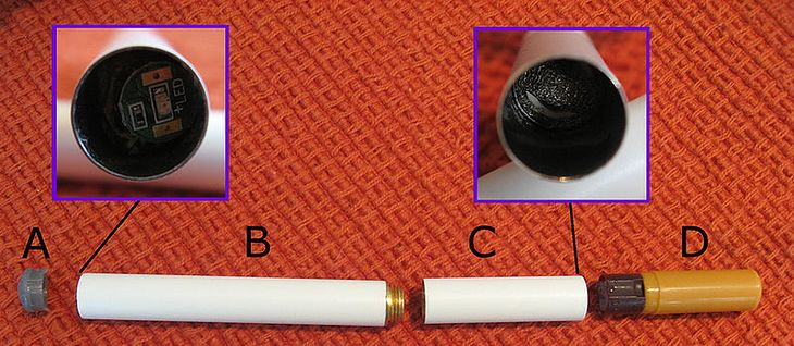 E-papieros, fot.: Wikipedia