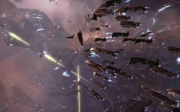 Gracze EVE Online rozegrali największą bitwę kosmiczna w historii