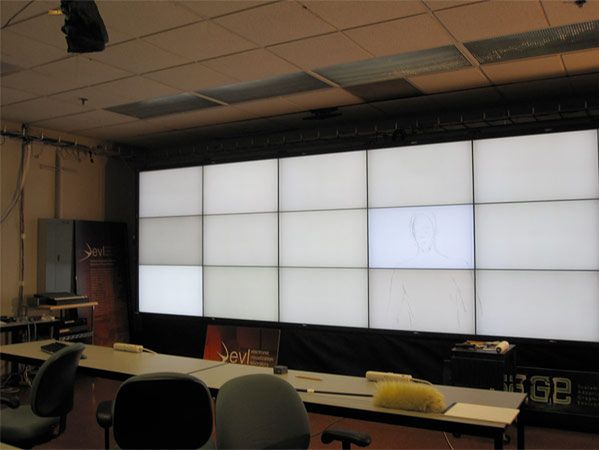 Digital Paint Wall