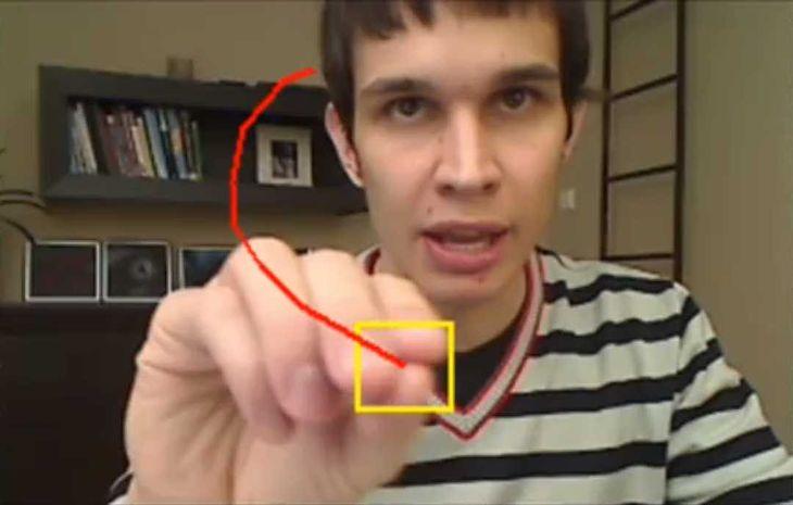 Namierzanie obiektu przez kamerę