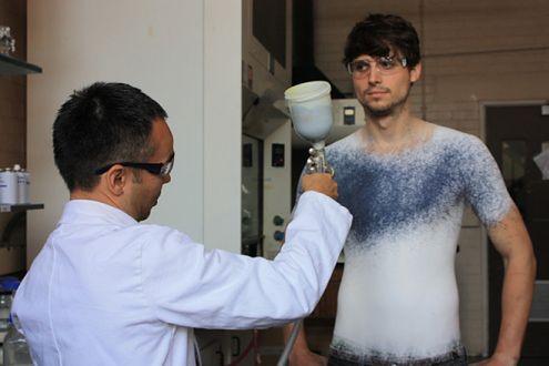 Koszulka w spray'u