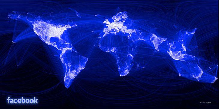 Facebook-Friends-Map