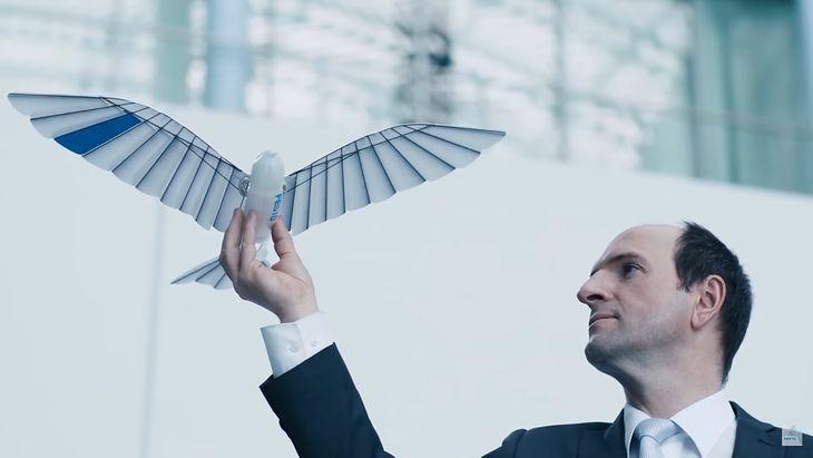 Bioniczny ptak od niemieckiej firmy Festo