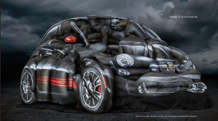 Tak promuje się Fiat