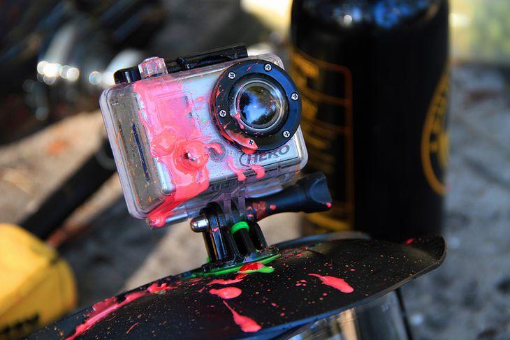 Możliwości kamerek zwiększają się wraz z ilością dodatkowych akcesoriów