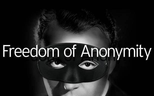 Anonimowość jest podejrzana